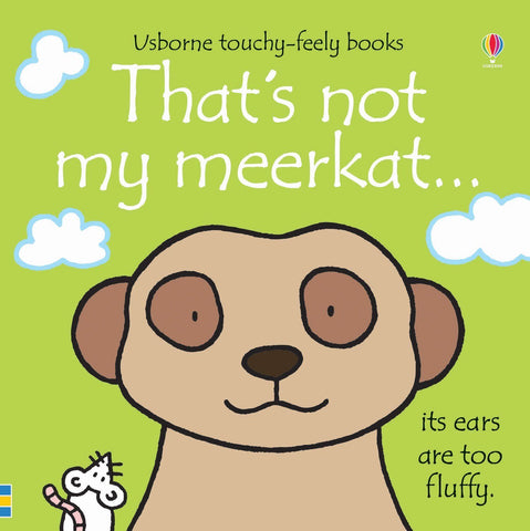 Usborne Touchy-Feely That's Not My Meerkat