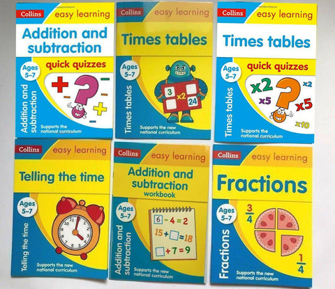 Set of Collins 5-7 Numeracy