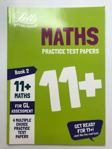 Letts 11+ Maths Practice Test Papers