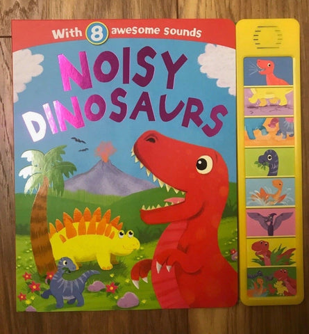 Noisy Dinosaur Sound Book