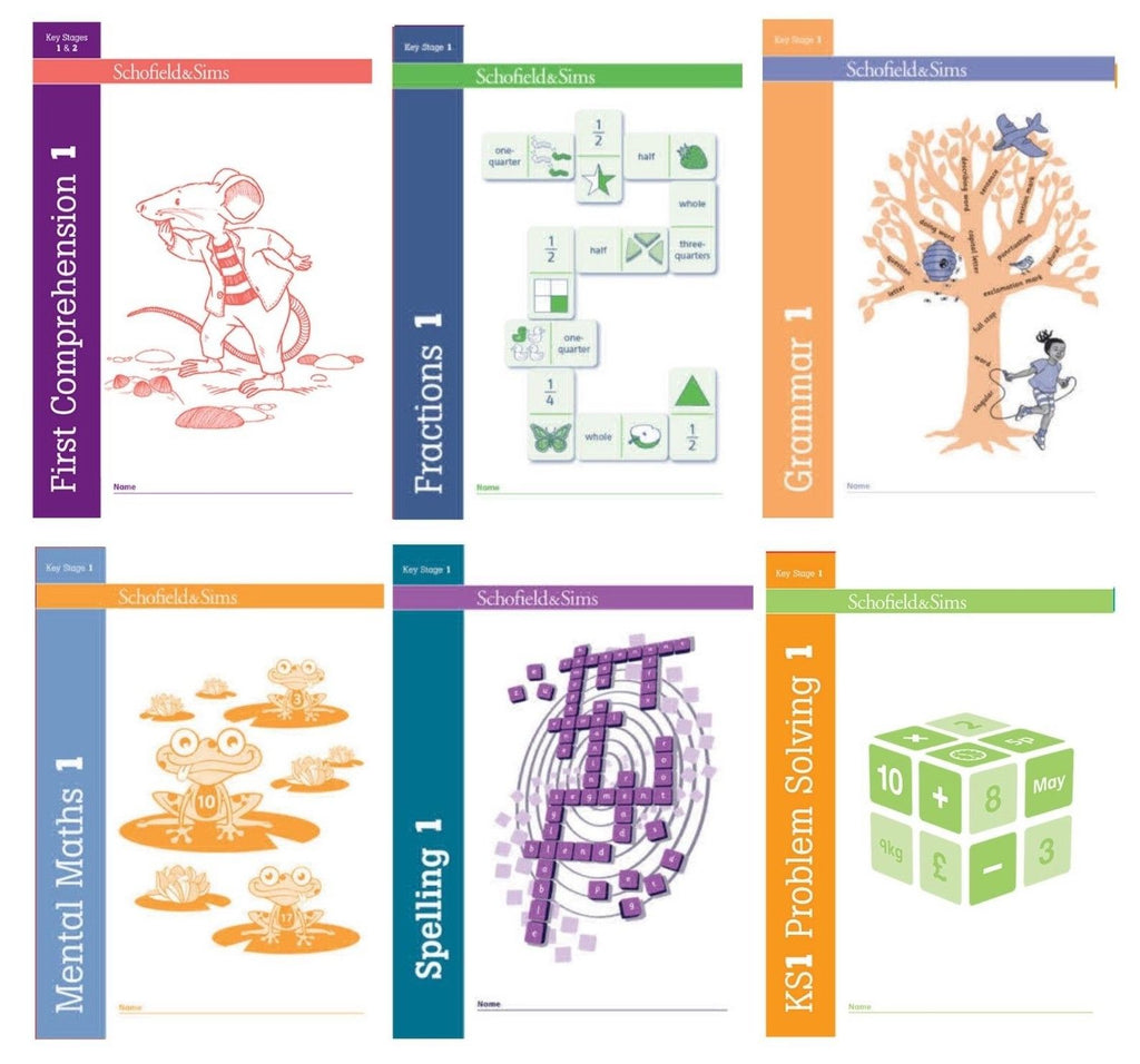 collection of Workbooks Fraction,Mental Maths,problem solving,comprehension