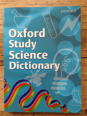 KS2 Oxford Study Science Dictionary Ages 7+ New