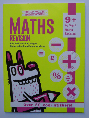 English Maths Home Learning Skills Set of 4 Workbooks