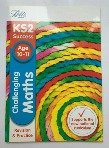 Letts KS2 Succsess Challenging Maths SATs Ages 10-11