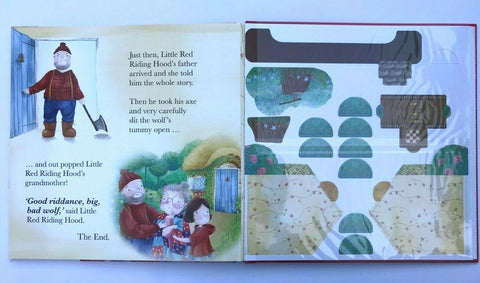 Little Red Riding Hood Press Out & Build Ages 3+