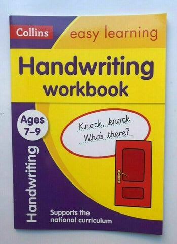 KS2 Collins Comprehension & Handwriting Easy Learning Set of 2