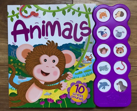Animals Multi Sound Book