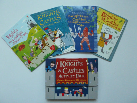 Usborne Nights And Castles Activity Pack