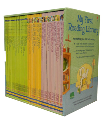 Usborne My First Reading Library 50 Books Collection