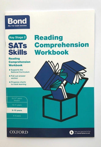 KS2 Bond Sats Skills Reading Comprehension Workbook Oxford Ages 9-10 Years