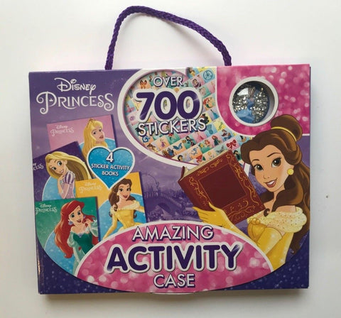 Disney Princess Activity Case Over 700 Stickers Book Ages 3+