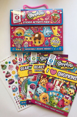 Shopkins Stickers And Activity Pack