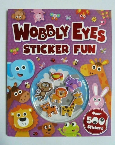 Wobbly Eyes Sticker Fun Book With Over 500 Stickers Ages 3+