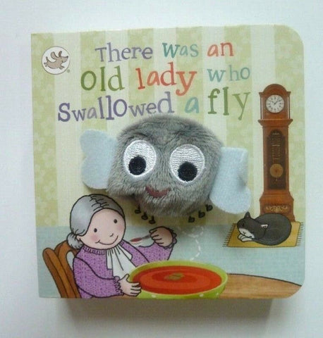 There Was An Old Lady Puppet Books
