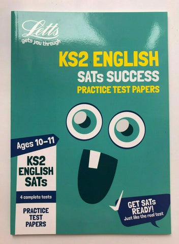 Letts KS2 English SATs Success Practice Test Papers Ages 10-11