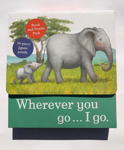 Wherever You Go..I Go Jigsaw Puzzle