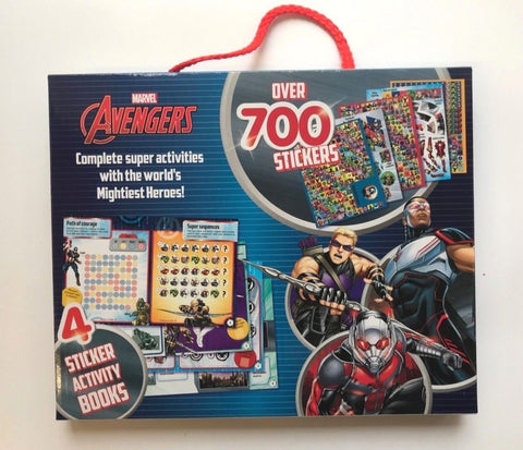 Marvel Avengers Sticker Activity Pack Ages 3+
