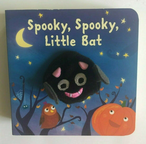 Spooky Spooky Little Bat Puppet Book