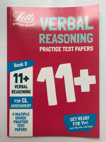 Letts 11+ Verbal Reasoning Practice Test Papers