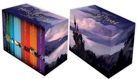 Harry Potter Box The Complete Collection Of Seven Novel Book Ages 7+