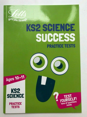 Letts KS2 Science Success Practice Tests Book Ages 10-11