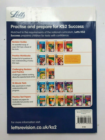 Letts KS2 Success Maths & English Ages 10-11