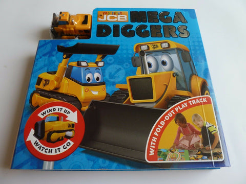 Mega Diggers Wind Up Toy