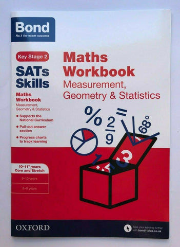 Bond SATS Ks2 Maths Workbook Numeracy Pack Ages 10-11