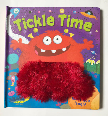 Tickle Time Puppet Book