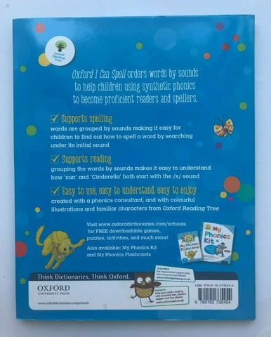 Oxford How can I Spell Book Ages 5+ Years New KS2