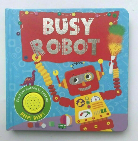 Busy Robot Sound Book