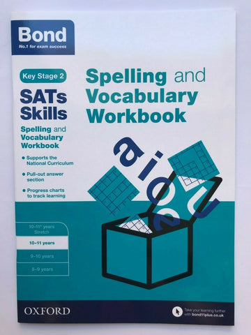 Bond SATS Comprehension Grammar & Spelling Literacy Workbook Pack Ages 10-11