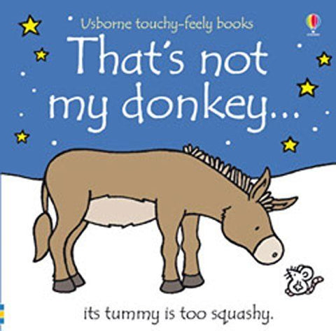 Usborne Touchy-Feely That's Not My Donkey