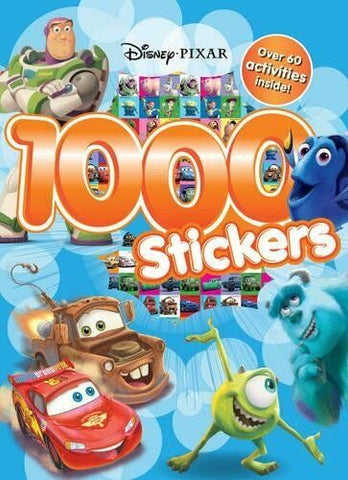 Disney Pixar 1000 Stickers Book Over 60 Activities