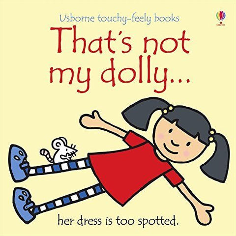 Usborne Touchy-Feely That's Not My Dolly