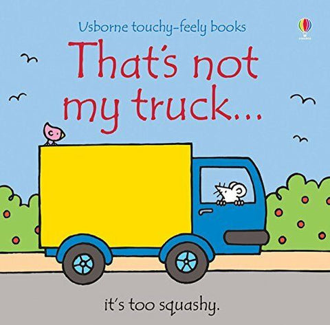 Usborne Touchy-Feely That's Not My Truck