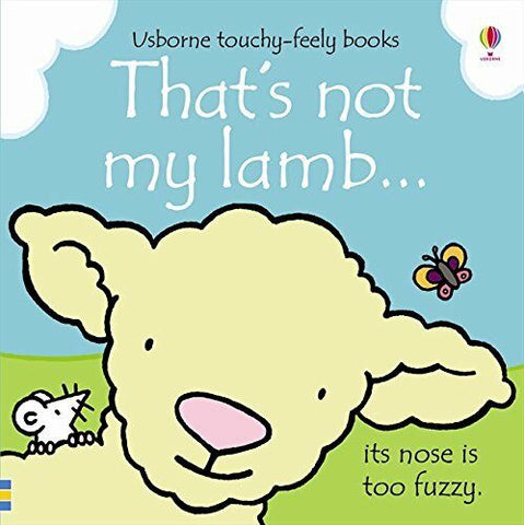 Usborne Touchy-Feely That's Not My Lamb