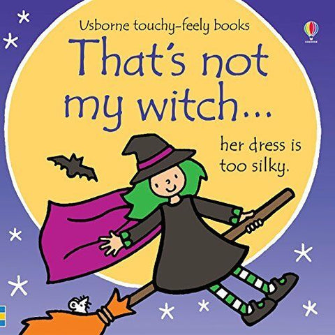 Usborne Touchy-Feely That's Not My Witch