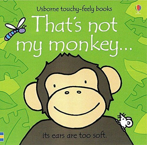 Usborne Touchy-Feely That's Not My Monkey