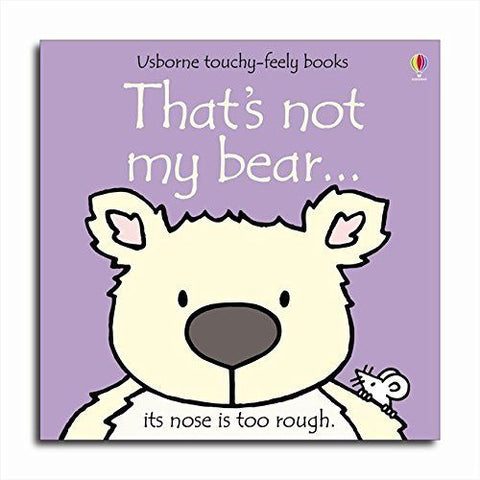 Usborne Touchy-Feely That's Not My Badger