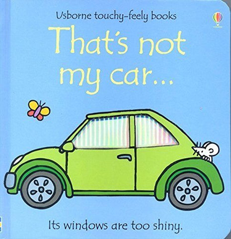 Usborne Touchy-Feely That's Not My Car