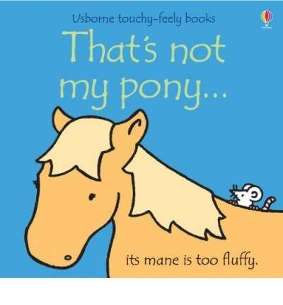 Usborne Touchy-Feely That's Not My Pony