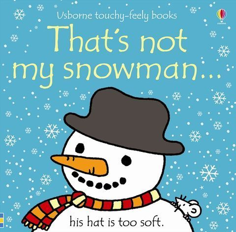 Usborne Touchy-Feely That's Not My Snowman
