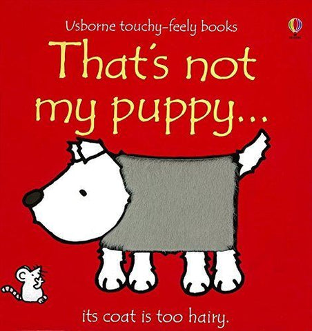 Usborne Touchy-Feely That's Not My Puppy