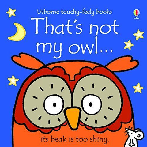 Usborne Touchy-Feely That's Not My Owl