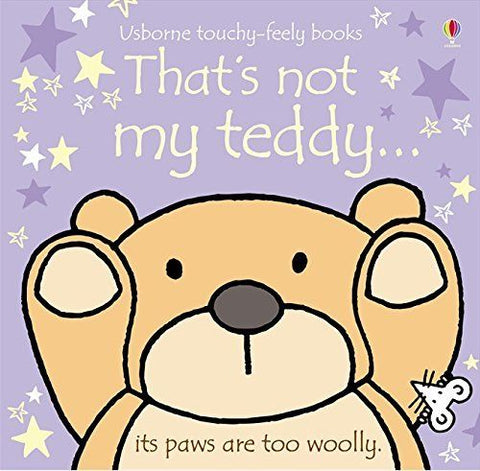 Usborne Touchy-Feely That's Not My Teddy