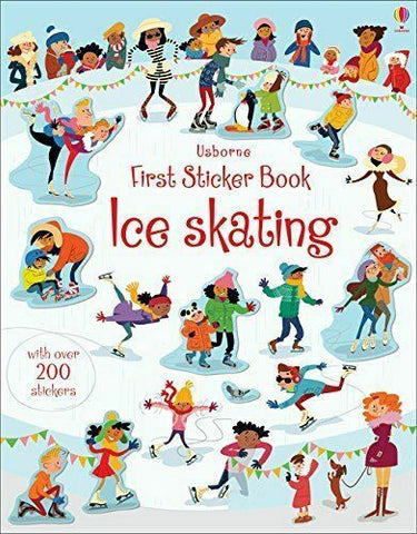 Usborne First Sticker Book Ice Skating