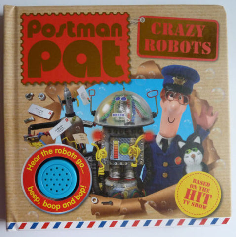 The New Sound Books Baby kids Postman Pat Fun time Sounds Crazy Robots NEW