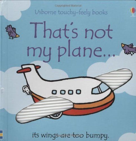 Usborne Touchy-Feely That's Not My Plane
