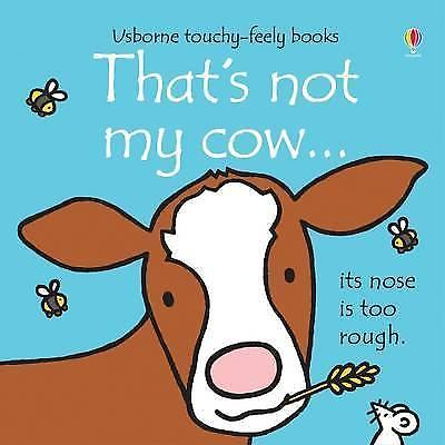 Usborne Touchy-Feely That's Not My Cow